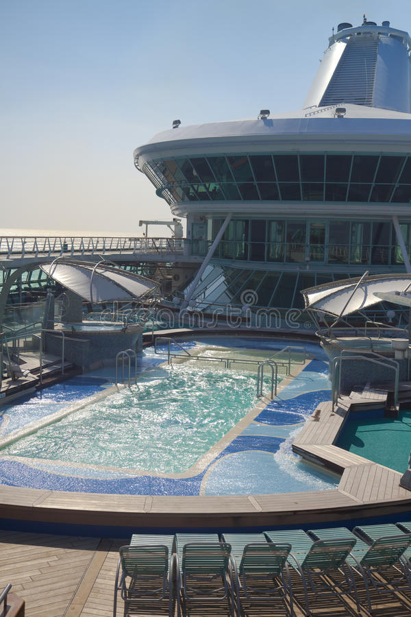 Download Top Deck Of Cruise Ship Stock Images - Image: 13913304