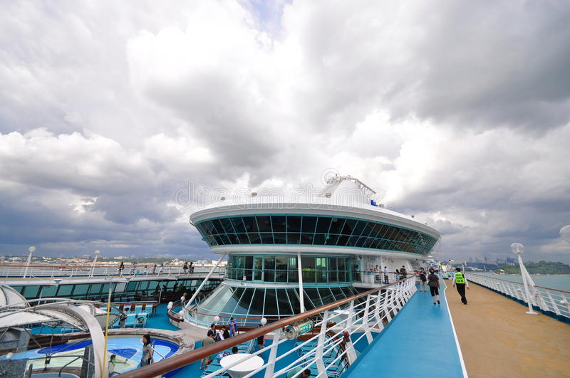Top Deck Of Legend Of The Seas 5 Editorial Stock Image