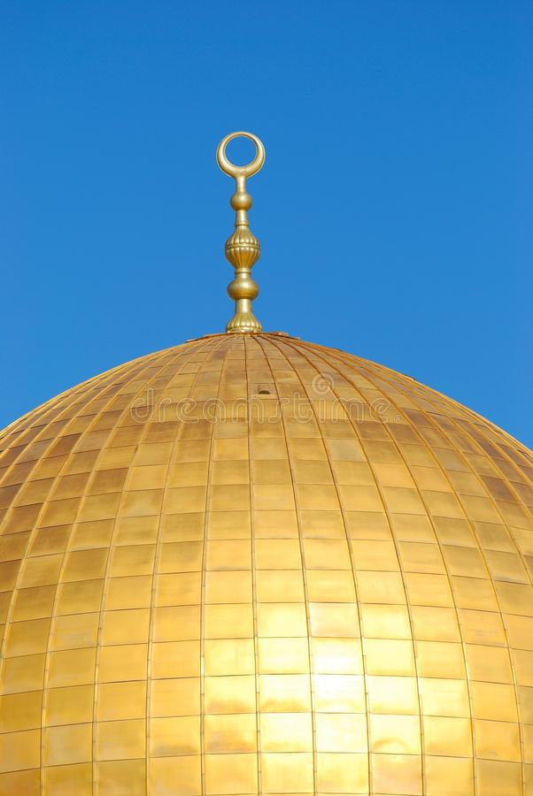Top Of Dome Of The Rock, Masjid Qubbat As-Sakhrah Stock Images