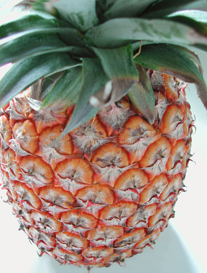 Top down van de ananas mening