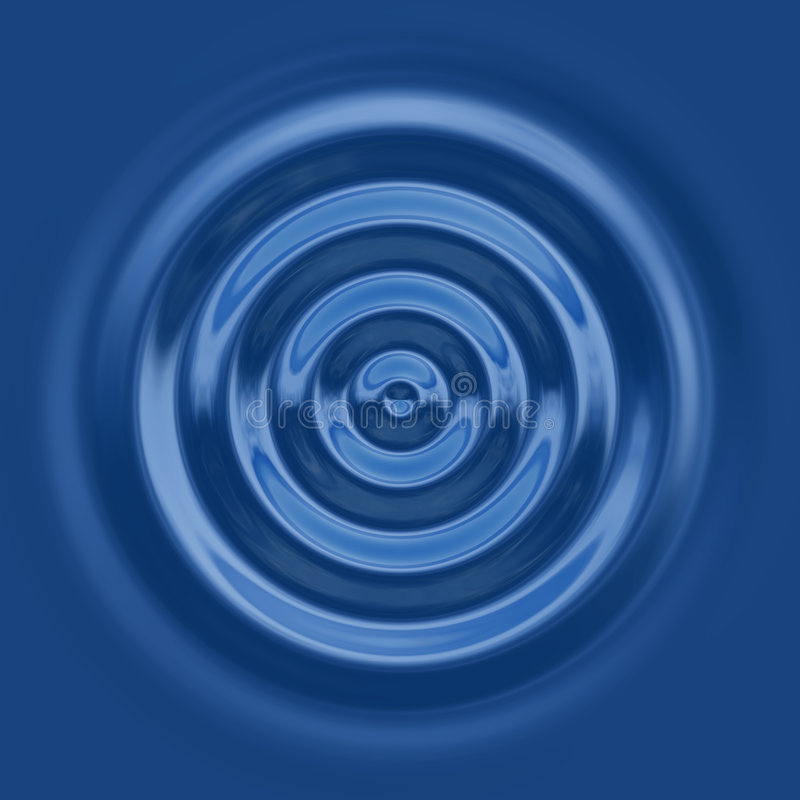 Download Top down water ripple stock vector. Image of ripple, blue - 2659146