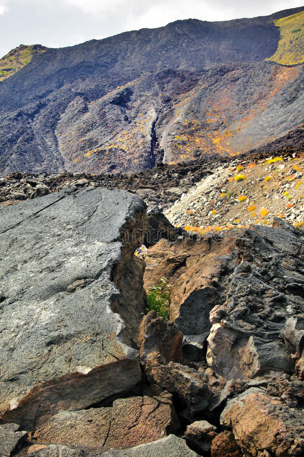 Download Top Of Etna, Volcano In Sicily Royalty Free Stock Photos - Image: 25691898