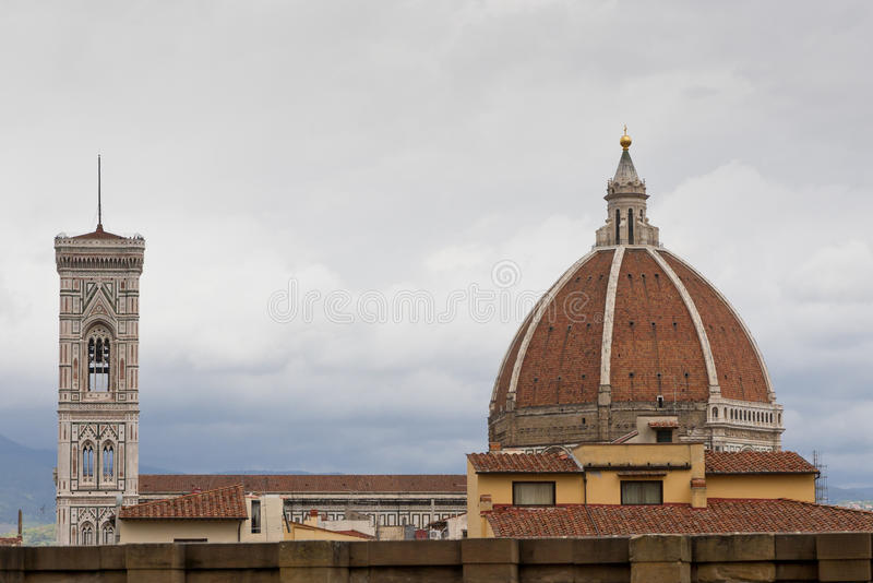 Download The Top Of Florence  Duomo Royalty Free Stock Photo - Image: 26565995