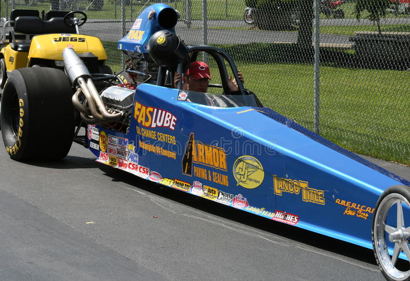 Top Fuel Dragster royalty free stock photos