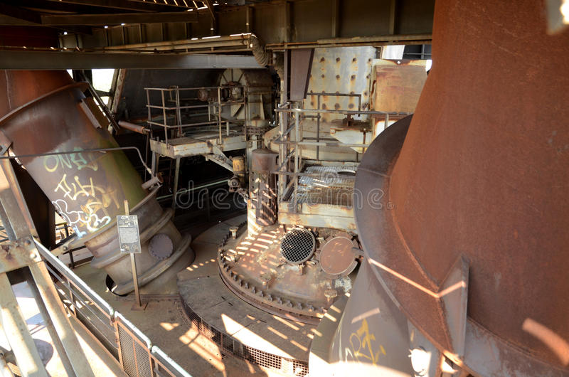 Download Top of the furnace stock photo. Image of manufacture - 28335310