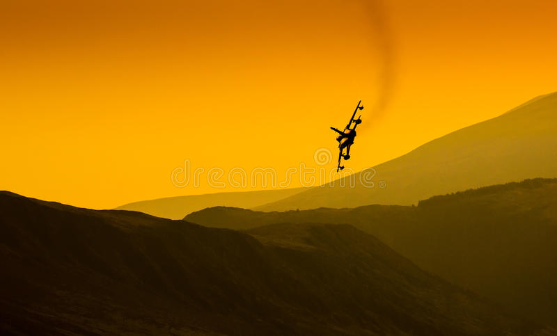 Top Gun fighter jet stock photography