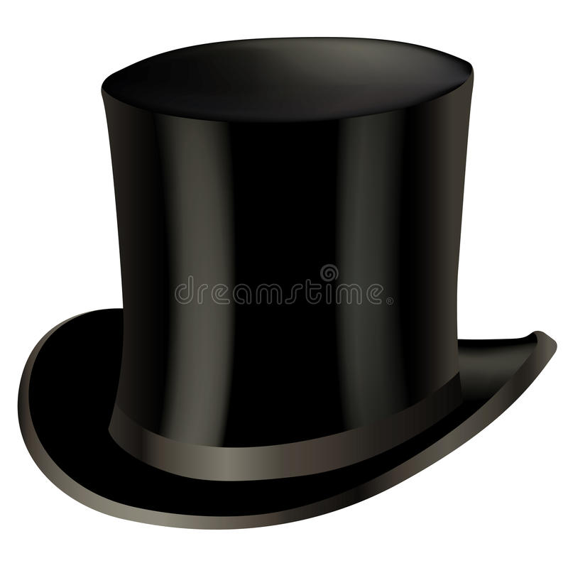 Top hat royalty free stock images