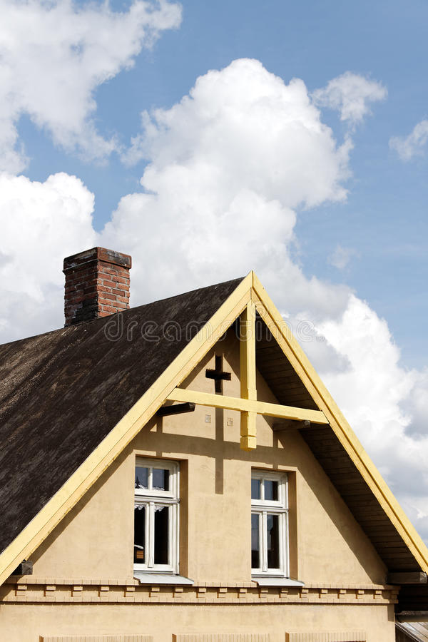 Top Of House. Royalty Free Stock Photography