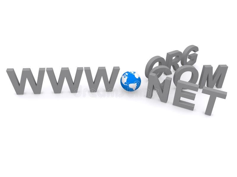Top-Level-Domaine stockfotografie