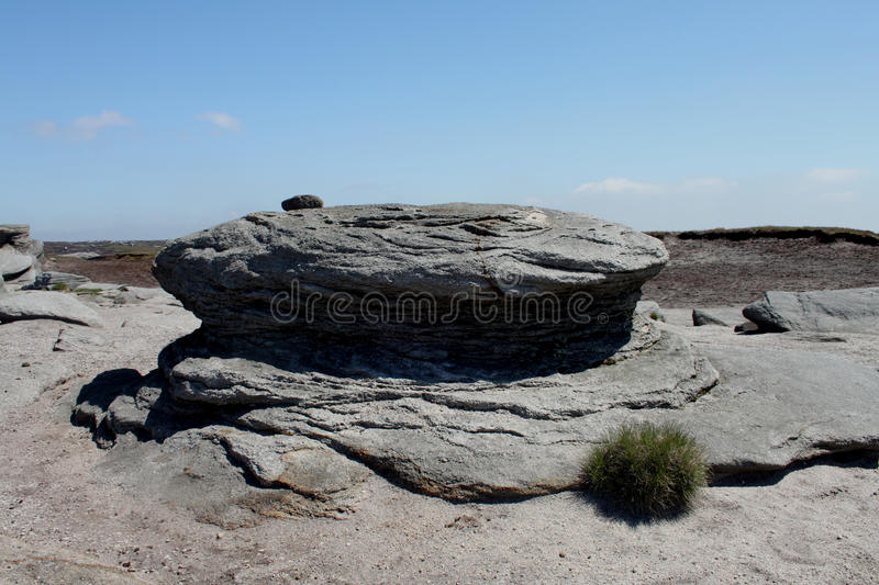 Download At The Top Of Kinder Scout, Peak District, Derbyshire Stock Photo - Image: 45575372