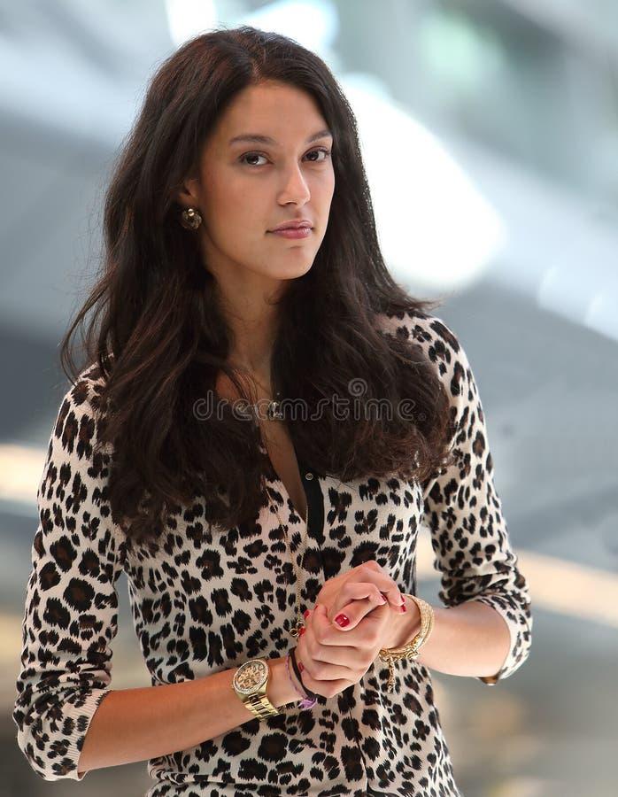 Top Model Rebecca MIR fotografia stock