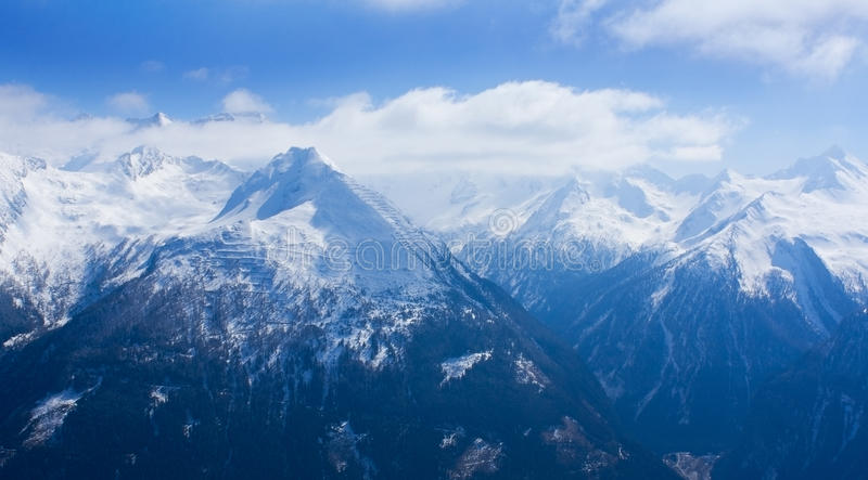 Download Top of mountains stock image. Image of tourism, peak - 19098441