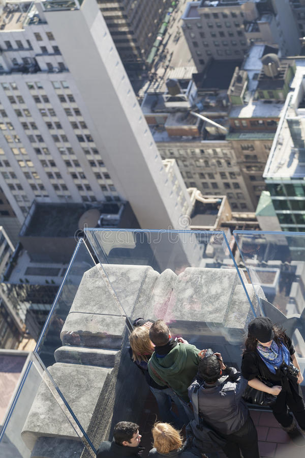 Free Top Of The Rock Observation Deck Royalty Free Stock Image - 25040406