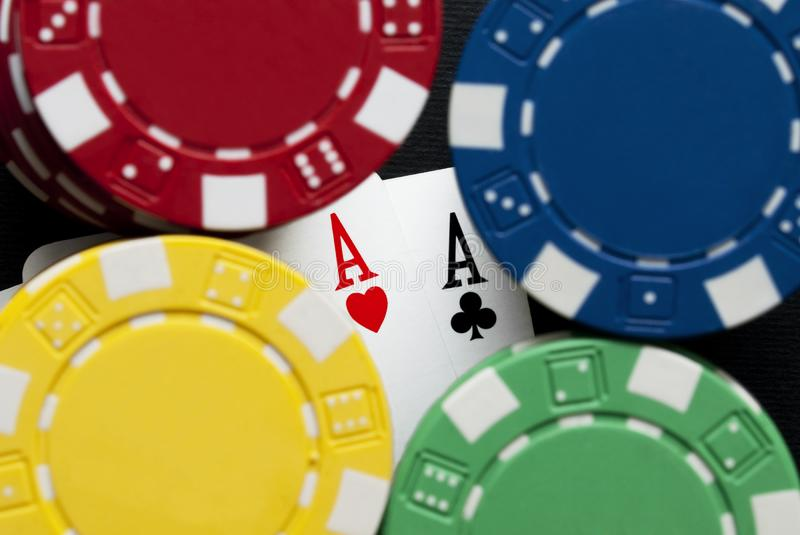 Download Top pairs and chips stock photo. Image of lucky, fortune - 13849132