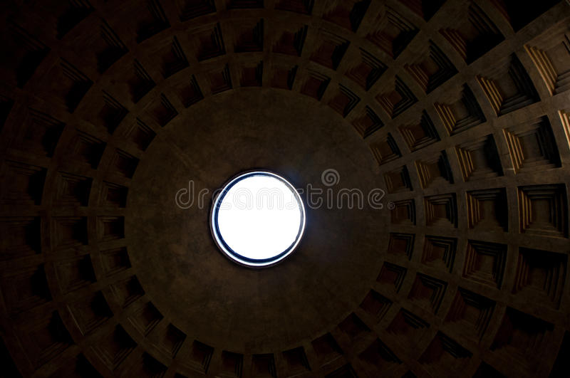 Download Top of the Pantheon stock image. Image of historic, blue - 15973463