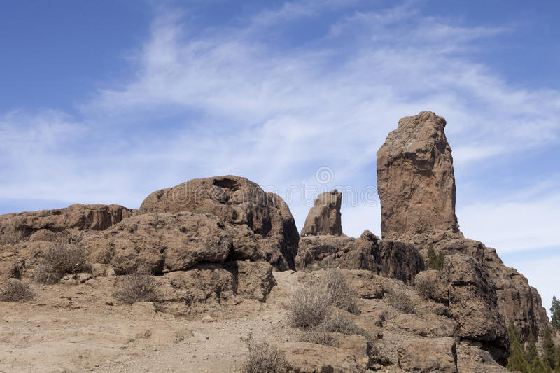Download On top of Roque Nublo stock photo. Image of earth, canaria - 23901252