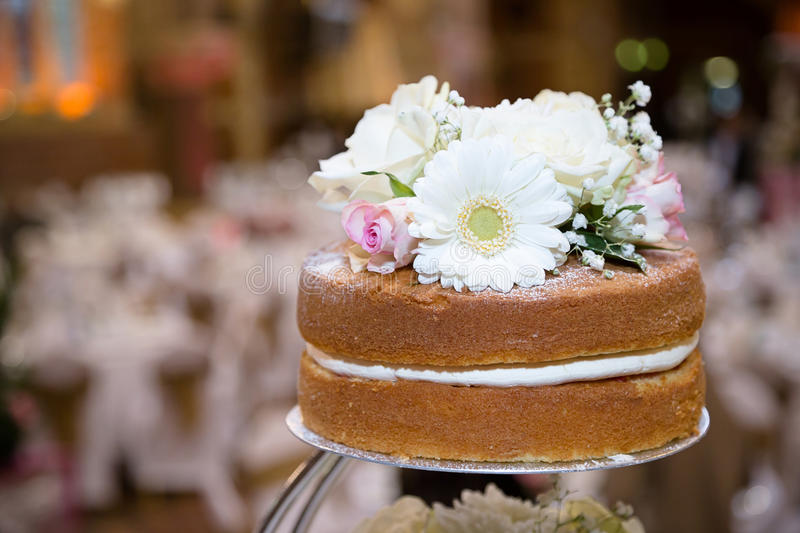 Top of rustic cake stock images
