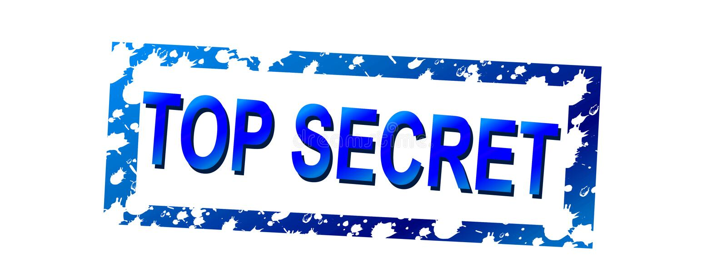 Top secret 01 vector illustration