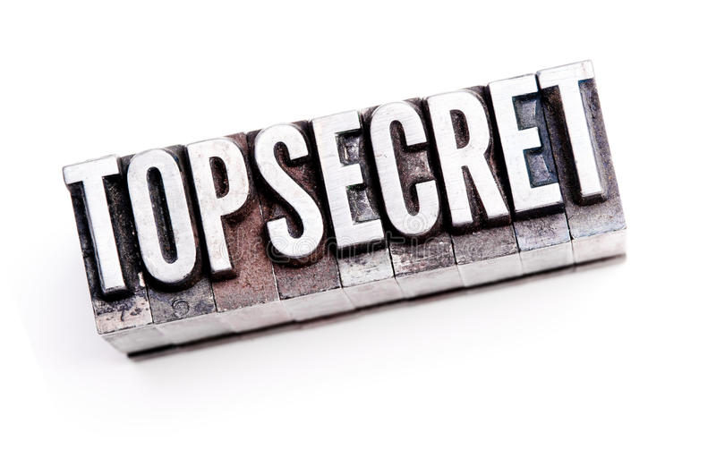 Download Top Secret stock photo. Image of mark, letterpress, information - 22154732