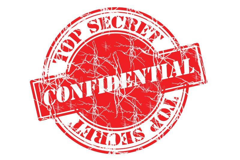 Top_secret vector illustratie