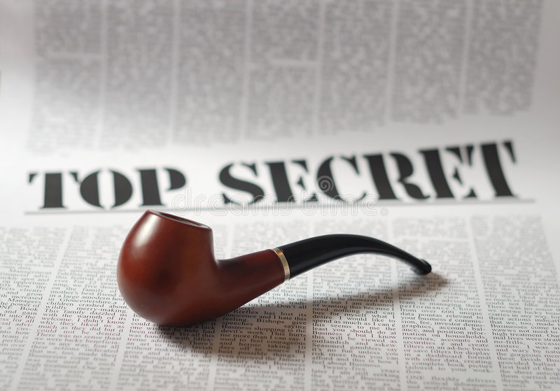 Download Top secret stock photo. Image of document, pipe, paper - 6592040