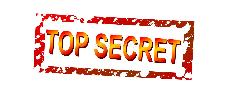 top secret ilustracji
