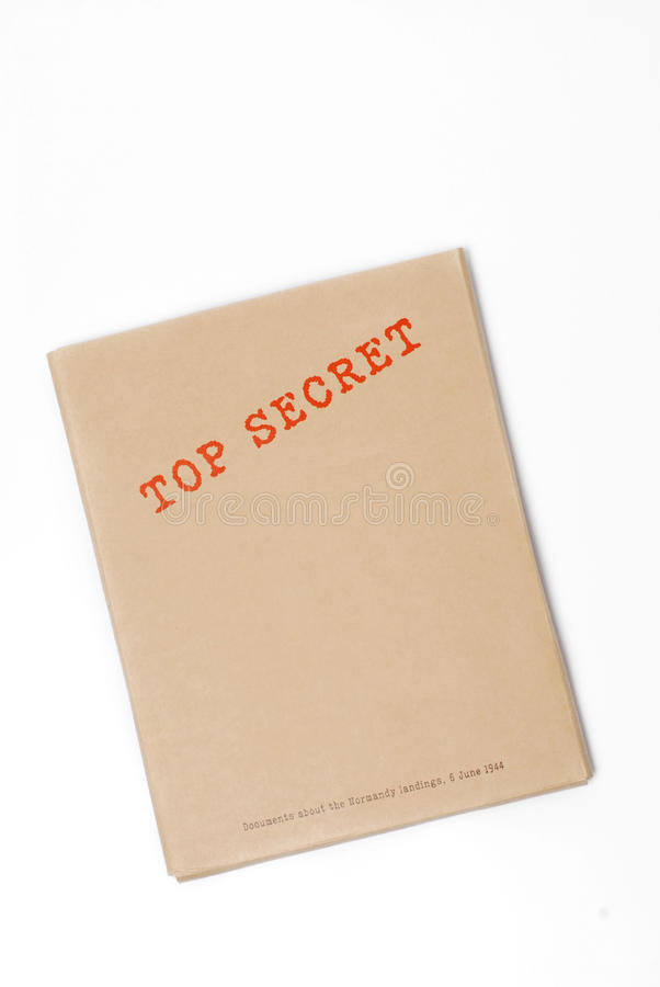 Download Top Secret Box Stock Photography - Image: 10388062