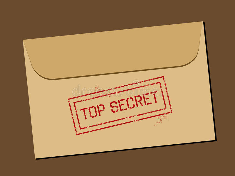 Download Top secret document stock vector. Image of mysterious - 20617571