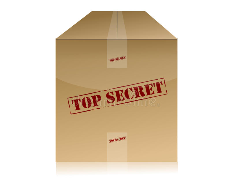 Download Top Secret Package Royalty Free Stock Images - Image: 17285979