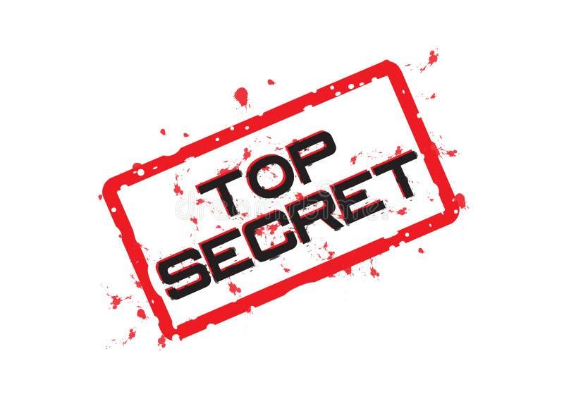 Top secret - vector royalty free illustration