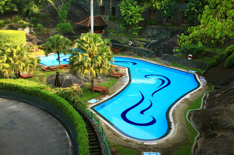 Download Resort pool stock photo. Image of palm, relax, tube, water - 30210706