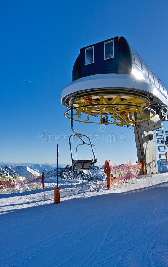 Download Top station stock image. Image of winter, cliff, tirol - 11725881