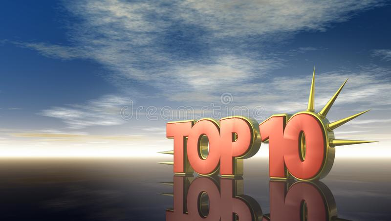 Top 10 stock illustration
