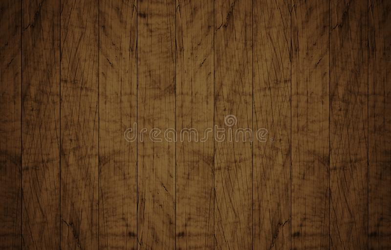 Top view of brown wooden surface royalty free stock photos