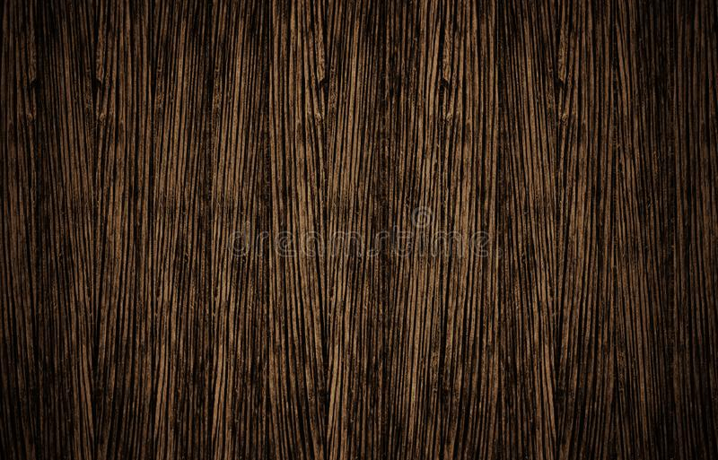 Top view of brown wooden surface stock photography