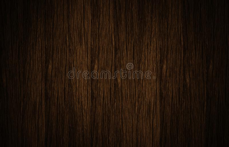 Top view of brown wooden surface. Background royalty free stock photo