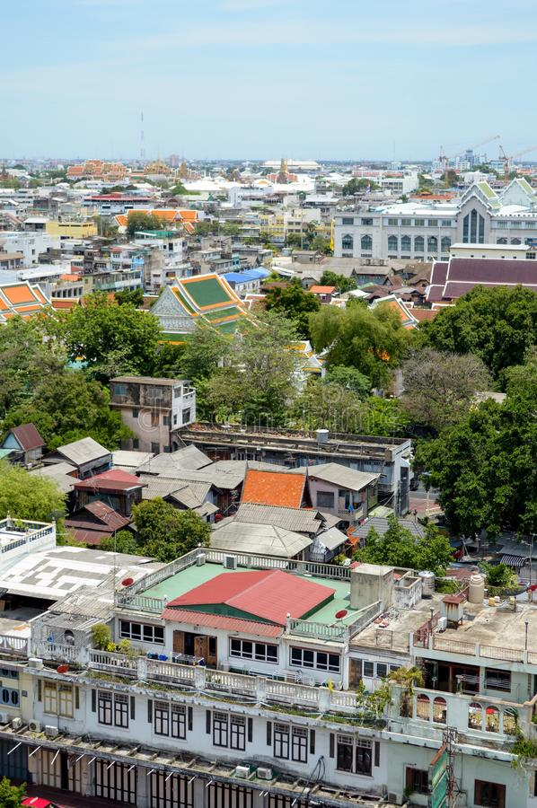 Top view of capital in thai. Close up Top view of capital in thai royalty free stock photography