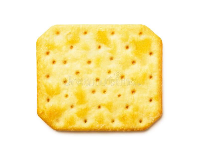 Top view of cheesy cracker royalty free stock images