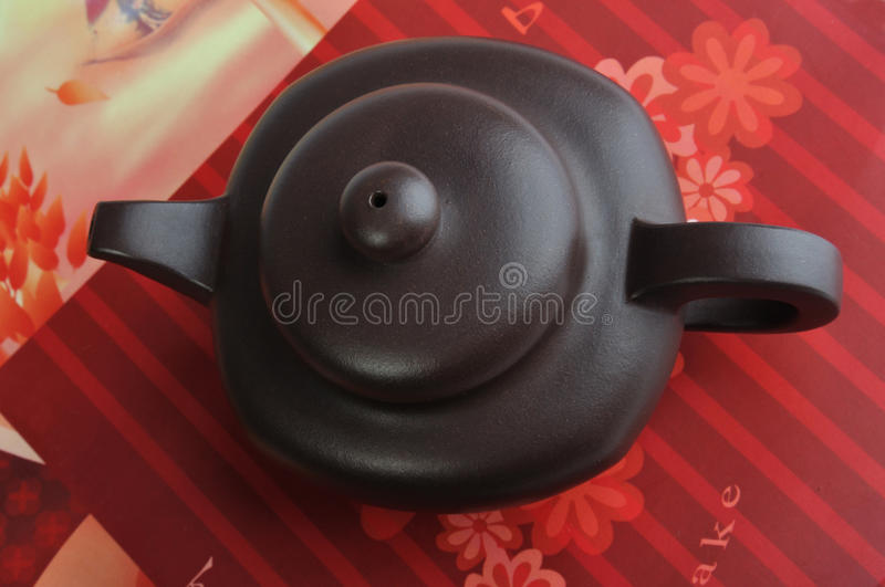 Download Top View Of Chinese Tea Pottery Stock Photo - Image: 13240354