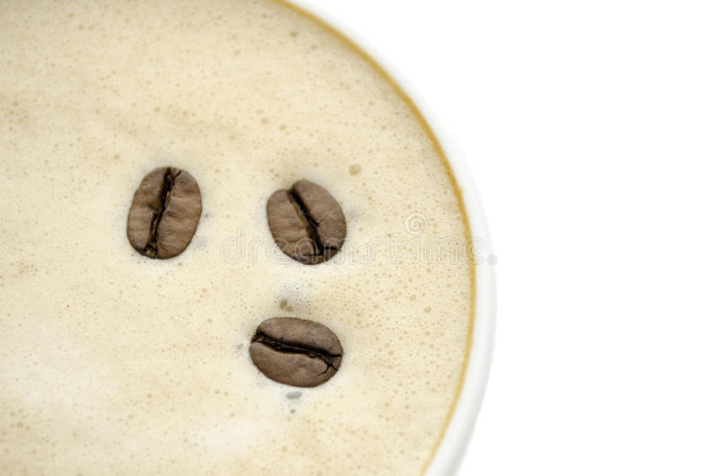 Download Top view of a coffee stock image. Image of background - 27953137