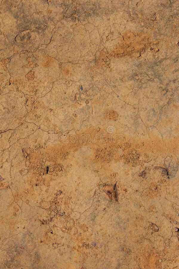 Top view Cracked mud pattern , ground abstract background stock photos