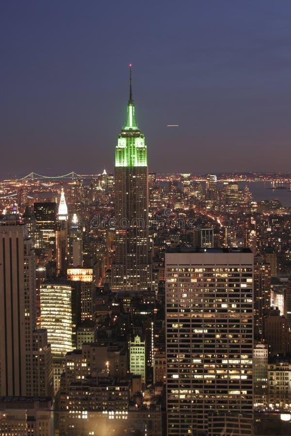 Top view of the empire stock photos