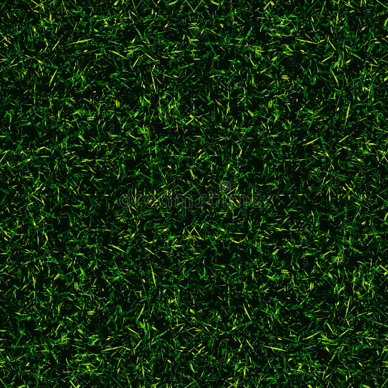 Top View Grass Background Stock Vector