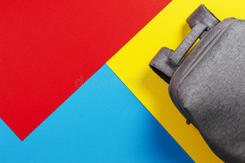 Yellow Canvas Case Stock Photo Image Of Object Handy