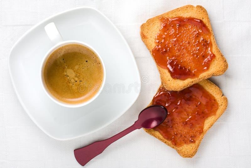 Healthy Breakfast Top View stock photo