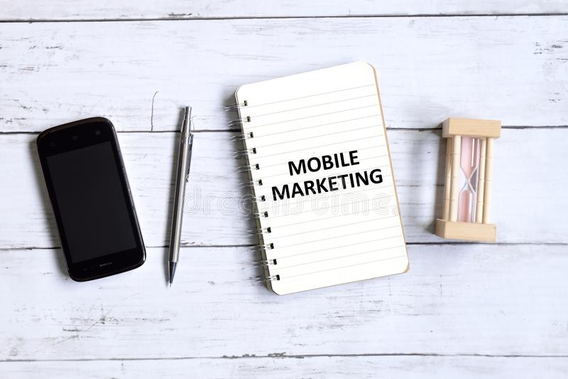 Mobile marketing stock photos