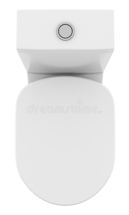 Toilet Top View Clean Stock Illustrations 253 Toilet Top View
