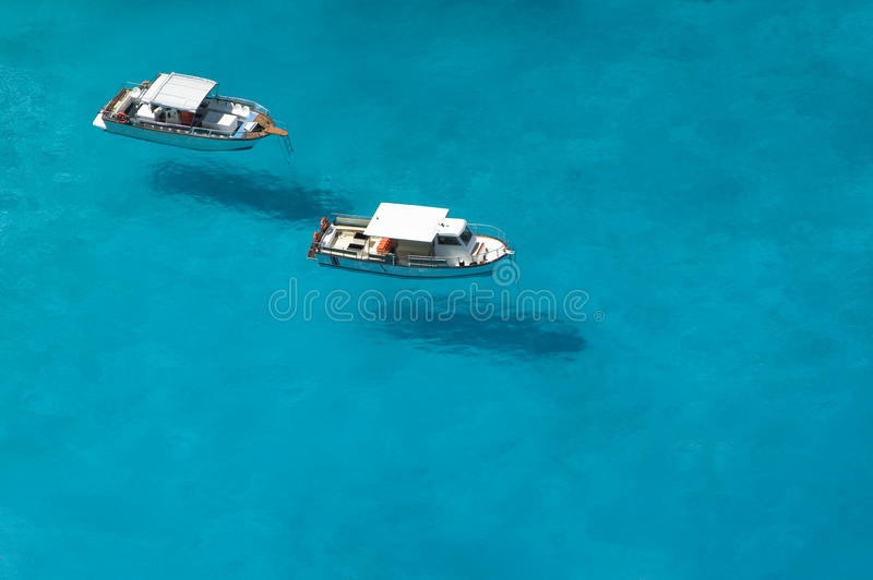 Download Top view of motorboats stock photo. Image of nautical - 25139610