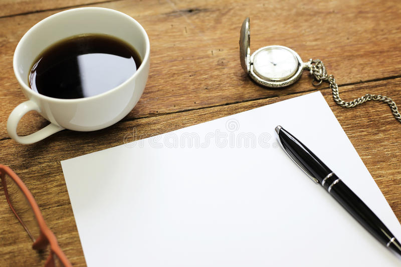 top office table cup. Brilliant Table Download Top View Of Office Table With Notebook Blank Paper Pen Cup Stock  Photo  Image