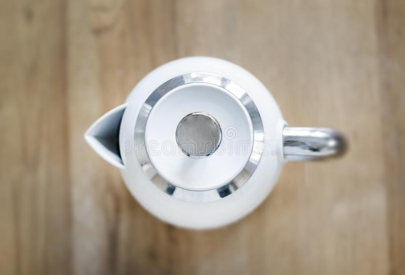 Top View Photo of Kettle stock photography
